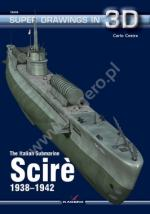 60842 - Cestra, C. - Super Drawings 3D 44: Italian Submarine Scire' 1938-1942