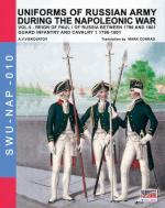 61186 - Viskovatov, A.V. - Uniforms of Russian Army during the Napoleonic war Vol 05 Reign of Paul I of Russia Between 1796 and 1801. Guard Infantry and Cavarly (1)