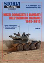 61344 - Cappellano-Esposito-Guglielmi, F.-F.-D. - Mezzi corazzati e blindati dell'EI 1945-2015 Parte 3a - Storia Militare Dossier 26