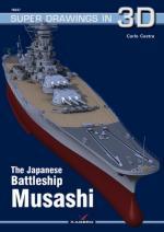 61390 - Cestra, C. - Super Drawings 3D 47: Japanese Battleship Musashi
