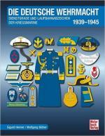 61498 - Henner-Boehler, S.-W. - Deutsche Wehrmacht. Dienstgrade und Laufbahnabzeichen der Kriegsmarine 1939-1945