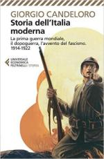 61844 - Candeloro, G. - Storia dell'Italia moderna. La IGM, il dopoguerra, l'avvento del fascismo 1914-1922