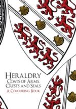 62311 - AAVV,  - Heraldry. Coats of Arms, Crests and Seals a Colouring Book