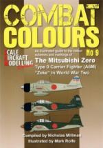 62460 - Milman-Rolfe, N.-M. - Combat Colours 09: Mitsubishi Zero