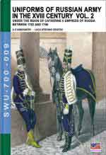 62562 - Viskovatov, A.V. - Uniforms of Russian Army in the XVIII Century Vol. 02: Under the Reign of Catherine II Empress of Russia Between 1762 and 1796