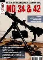 62638 - AAVV,  - Mitrailleuses Allemandes MG 34 et 42 - Gaz. des Armes HS 23 (Les)