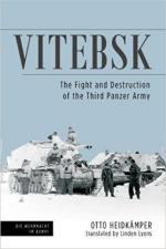 63072 - Heidkaemper, O. - Vitebsk. The Fight and Destruction of the 3rd Panzer Army
