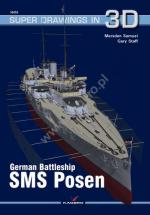 63449 - Samuel-Staff, M.-G. - Super Drawings 3D 53: German Battleship SMS Posen