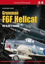 63450 - Lukasik, M. - Top Drawings 44: Grumman F6F Hellcat. F6F-3, F6F-5 models