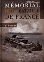 63609 - Mary-Kerger, J.Y.-P. - Memorial de la bataille de France Tome 3. Du 5 au 16 Juin 1940
