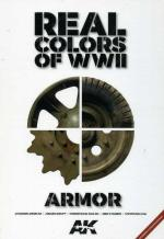 63891 - AAVV,  - Real Colors of WWII. The Definitive Guide for WWII AFV Colors