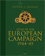 64012 - Zaloga, S.J. - Atlas of the European Campaign 1944-1945. Cofanetto