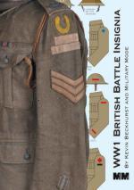 64034 - Beckhurst, K. - WW1 British Battle Insignia