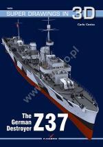 64177 - Cestra, C. - Super Drawings 3D 55: German Destroyer Z 37