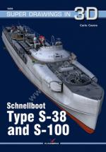 64482 - Cestra, C. - Super Drawings 3D 56: Schnellboot Type S-38 and S-100