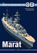65223 - Pomoshnikov-Radziemski, O.-J. - Super Drawings 3D 59: Russian Battleship Marat