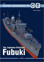 65225 - Cestra, C. - Super Drawings 3D 61: Japanese Destroyer Fubuki