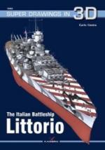 65226 - Cestra, C. - Super Drawings 3D 62: Italian Battleship Littorio