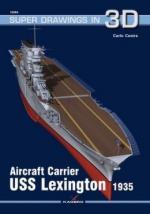 65228 - Cestra, C. - Super Drawings 3D 64: Aircraft Carrier USS Lexington 1935