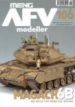 65923 - AFV Modeller,  - AFV Modeller 106. Magach 6B