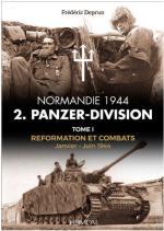 66317 - Deprun, F. - 2. Panzer-Division. Normandie 1944 Tome 1: janvier-Juin 1944