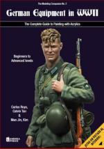 66684 - AAVV,  - German Equipment in WWII. The Complete Guide to Painting with Acrylics