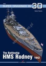 66783 - Cestra, C. - Super Drawings 3D 70: Battleship HMS Rodney 1942