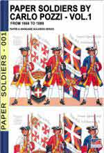 67332 - Cristini, L.S. cur - Paper soldiers by Carlo Pozzi Vol.1: from 1650 to 1890