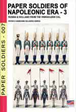 67337 - Cristini, L.S. cur - Paper soldiers of Napoleonic era Vol.3: Russia and Holland from the Vinkhuijzen Collection