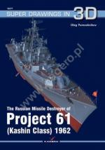 68170 - Pomoshnikov, O. - Super Drawings 3D 77: Russian Destroyer of Projekt 61 (Kashin Class) 1962