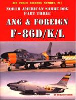 60052 - Curtis, D. - Air Force Legends 211: North American Sabre Dog Part 3: ANG and Foreign F-86D/K/L