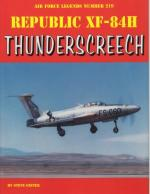60023 - Ginter, S. - Air Force Legends 219: Republic XF-84H Thunderscreech