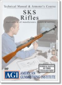 44234 - American Gunsmithing Institute,  - Technical Manual and Armourer's Course: SKS Rifles - DVD