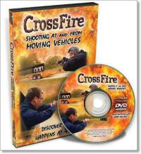 44346 - AAVV,  - Crossfire. Shooting at and from Moving Vehicles - DVD