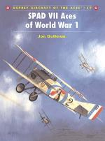 20407 - Guttman, J. - Aircraft of the Aces 039: SPAD VII Aces of World War I