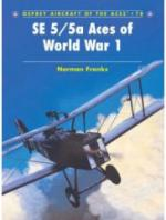 35898 - Franks-Dempsey, N.-H. - Aircraft of the Aces 078: SE 5/5a Aces of World War I