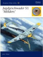 34744 - Weal, J. - Aviation Elite Units 022: Jagdgeschwader 51 'Moelders'