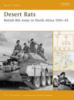 37153 - Moreman, T. - Battle Orders 028: Desert Rats. British 8th Army in North Africa 1941-43