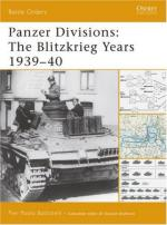 37158 - Battistelli, P.P. - Battle Orders 032: Panzer Divisions: The Blitzkrieg Years 1939-40
