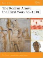 33153 - Fields, N. - Battle Orders 034: Roman Army: the Civil Wars 88-31 BC