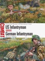 58689 - Zaloga, S.J. - Combat 015: US Infantryman vs German Infantryman. European Theater of Operations 1944