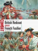57703 - Reid, S. - Combat 017: British Redcoat vs French Fusilier. North America 1755-63