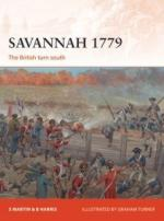 63091 - Harris-Martin-Turner, B.F.-S.-G. - Campaign 311: Savannah 1779. The British turn south