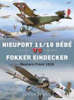 55451 - Guttman-Laurier, J.-J. - Duel 059: Nieuport 11/16 Bebe vs Eindecker. Western Front 1916