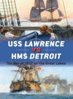 61786 - Lardas, M. - Duel 079: USS Lawrence vs HMS Detroit. The War of 1812 on the Great Lakes