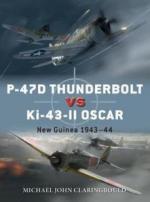 17236 - Claringbould-Hector-Laurier, M.J.-G.-J. - Duel 103: P-47D Thunderbolt vs Ki-43-II Oscar. New Guinea 1943-44