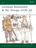 17460 - Williamson-Andrew, G.-S. - Elite 063: German Mountain and Ski Troops 1941-45