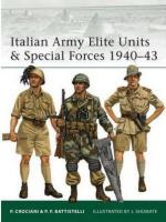 38092 - Crociani-Battistelli-Shumate, P.-P.P.-J. - Elite 099: Italian Army Elite Units and Special Forces 1940-43