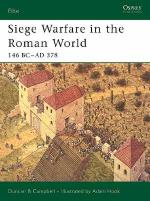 30549 - Campbell-Hook, D.B.-A. - Elite 126: Siege Warfare in the Roman World. 146 BC-AD 378