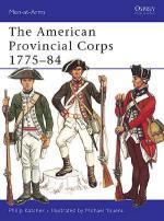 25727 - Katcher-Youens, P.-M. - Men-at-Arms 001: American Provincial Corps 1775-1784